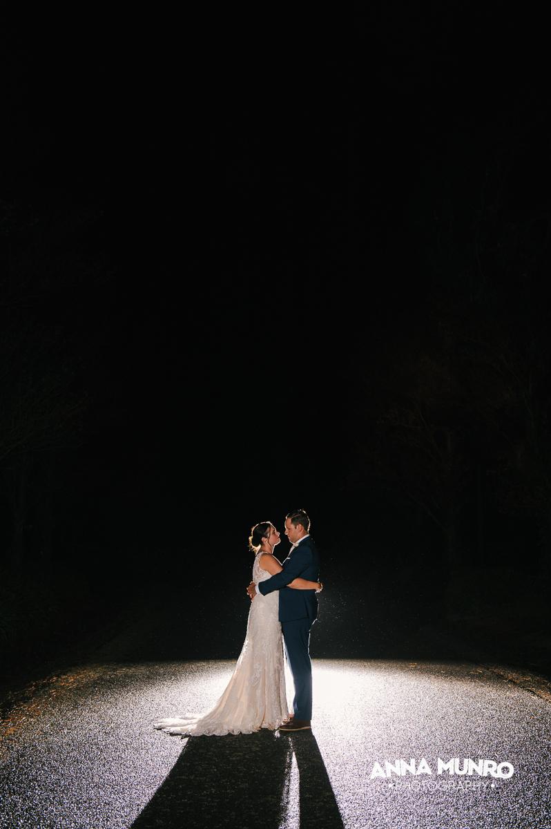 Night Shots | Astra Bride Renee | Maggie Sottero Winifred | Brackenridge Country Retreat & Spa | Anna Munro Photography