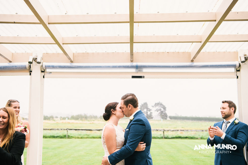 The Ceremony | Astra Bride Renee | Maggie Sottero Winifred | Brackenridge Country Retreat & Spa | Anna Munro Photography