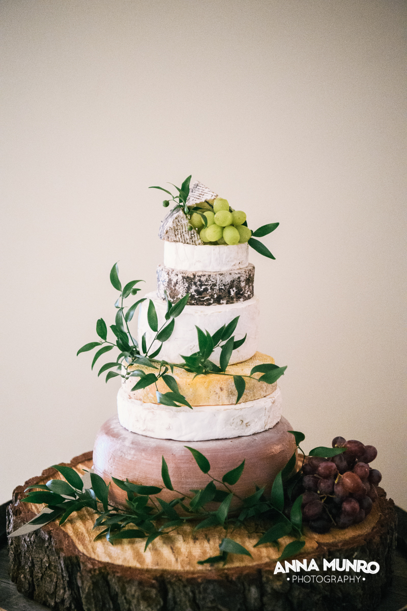 Reception - Bridal Cake | Astra Bride Renee | Maggie Sottero Winifred | Brackenridge Country Retreat & Spa | Anna Munro Photography