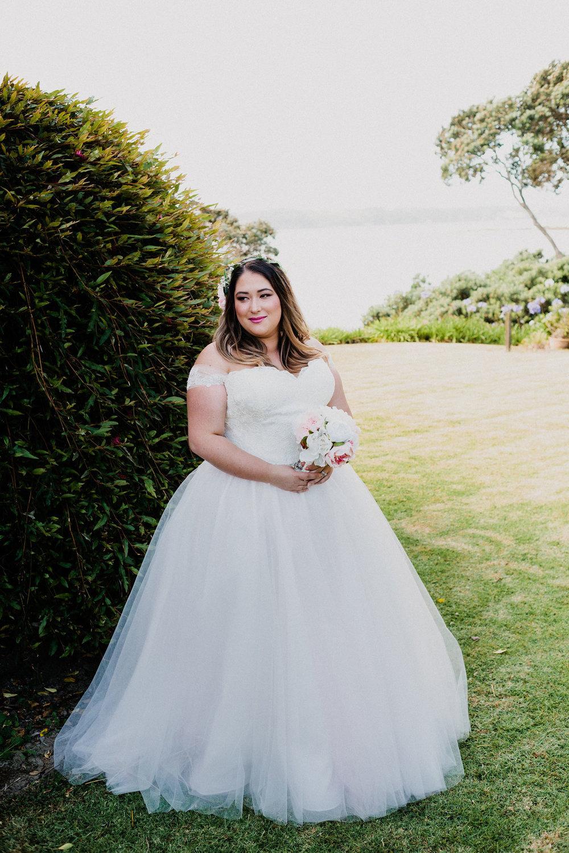 Relaxed Backyard Wedding |  Astra Bride Stevie | Cristina Rossi AK1101 | Pt Chevalier, Auckland | Joanna Wickham Photography