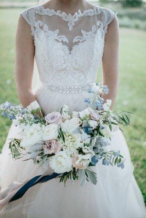 Gown spotlight Rebecca Ingram Carrie — Borrowed & Blue - NZ Wedding ...