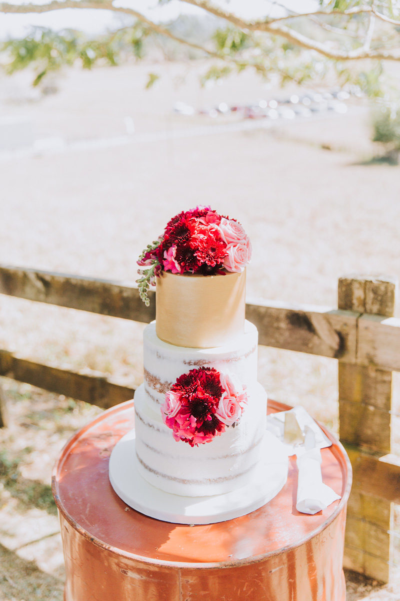 Clares cake design | Astra Bride Stacey | Maggie Sottero Mirian | Boho wedding at home | Tinted Photography