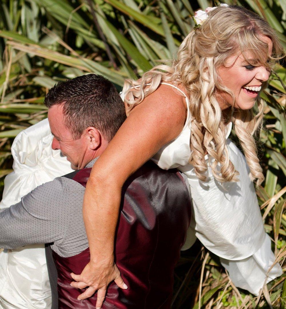 The Bride gets carried away | Bridal Outlet Bride Nikki
