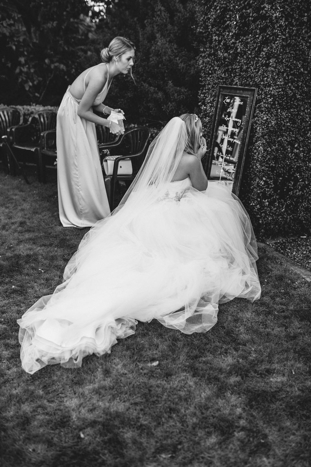 Bride + Bridesmaid | Astra Bride Sabrina | Maggie Sottero Aracella | Sarnia Park Boutique Lodge | Skye Carter Photography