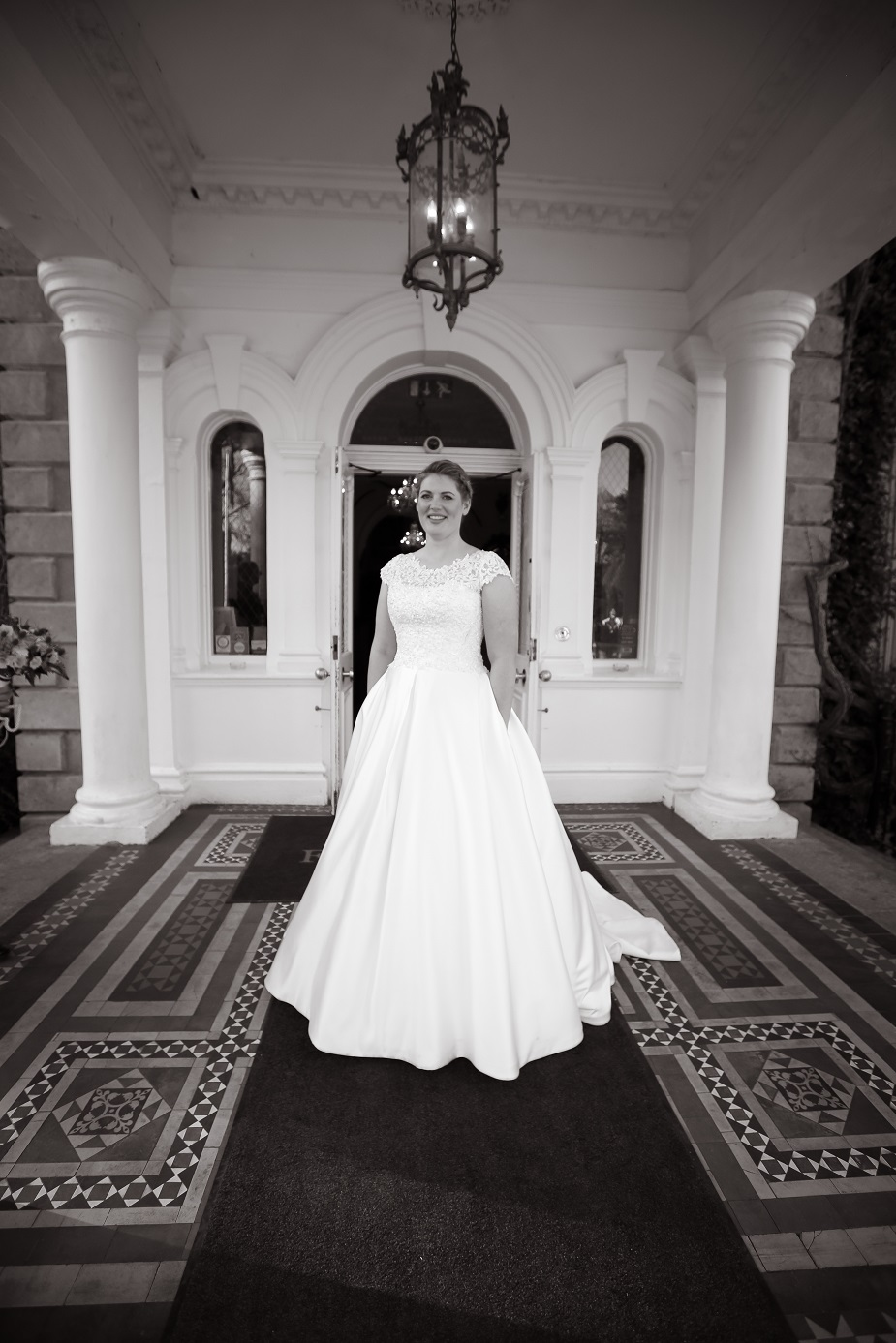 The Bride | Astra Bride Barbara | Sottero + Midgley Taiya | Finnstown Castle Hotel, Dublin, Ireland  | Will O'Reilly Photography