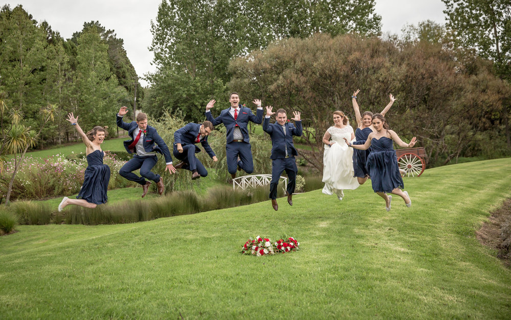 The Wedding Party    Astra Bride Sarah   Sottero + Midgley Taiya   Gracehill Vineyard in Kumeu   Ester Siraky Photography
