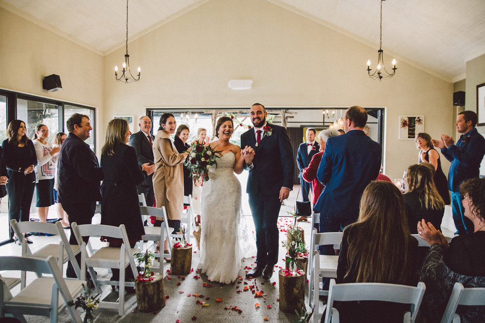 Walking out as Husband and Wife | Astra Bride Kate