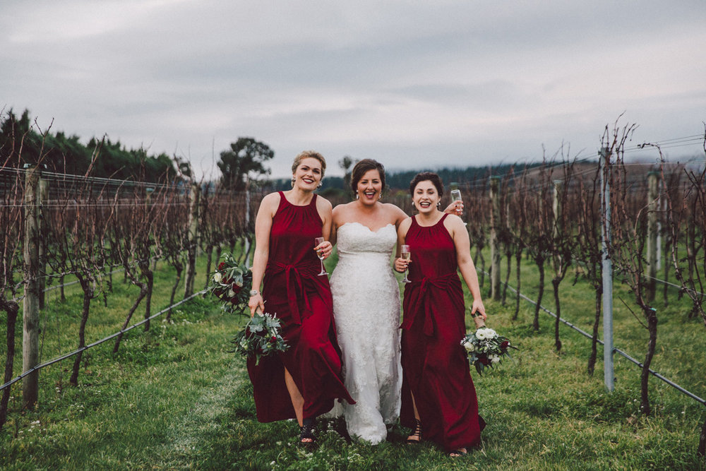 The Bride and Bridesmaids | Astra Bride Kate