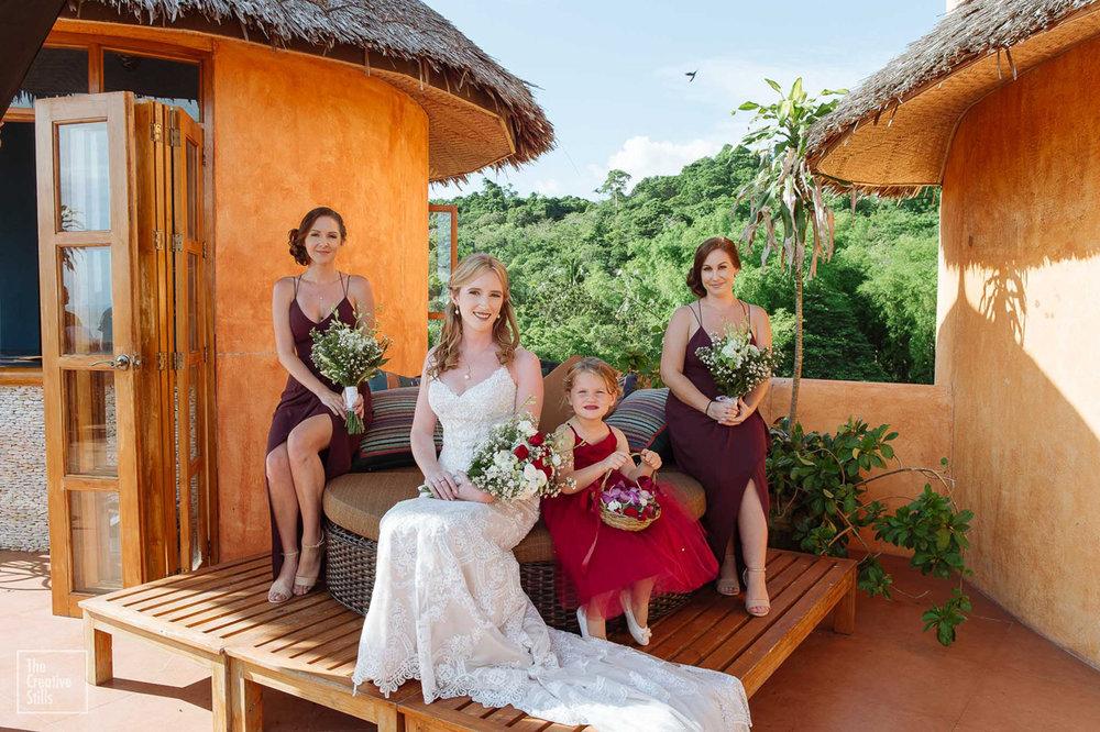 Bride, Bridesmaids & Flower Girl | Astra Bride Krystal