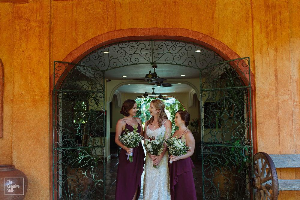 The Bride & Bridesmaids | Astra Bride Krystal