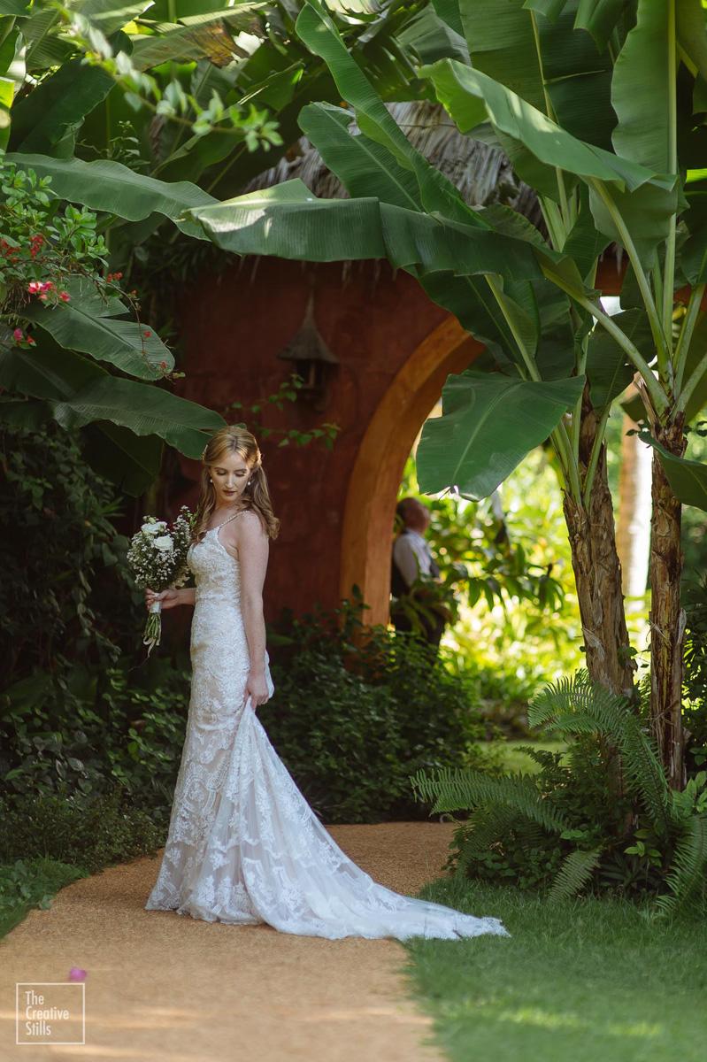 Tropical Wedding Setting | Astra Bride Krystal