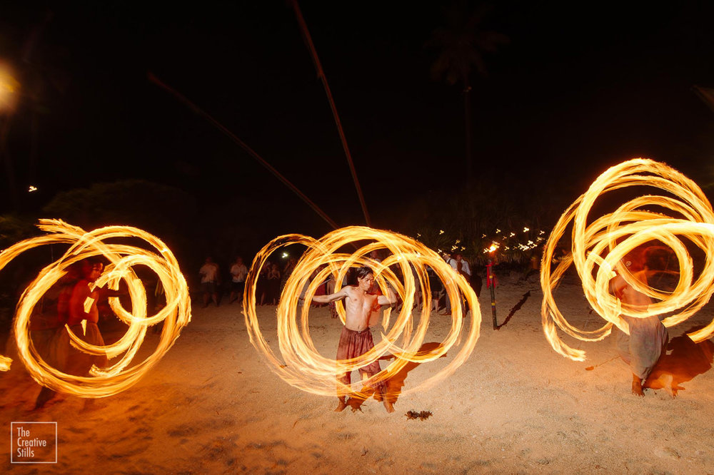Entertainment with fire | Astra Bride Krystal