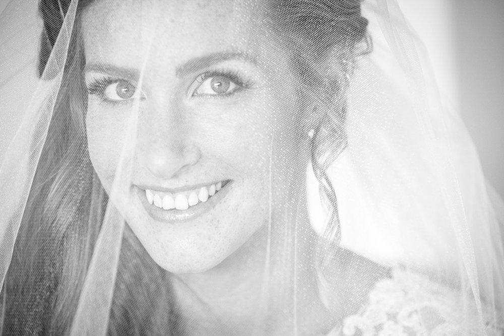 View through the veil | Astra Bride Keri