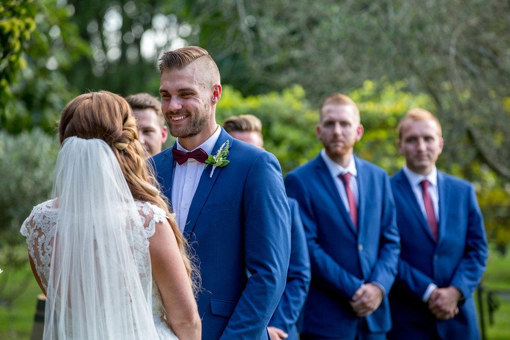 Starting the Ceremony | Astra Bride Keri