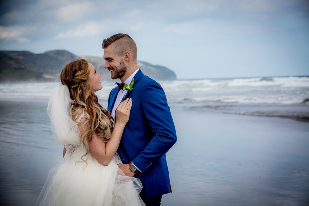 Atmospheric Beach Shot | Astra Bride Keri