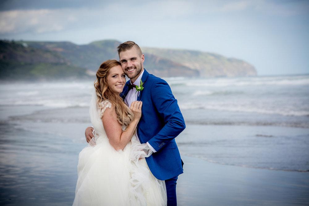 Beach Bride & Groom | Astra Bride Keri