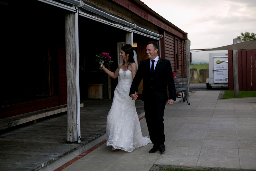 Sonja and Cameron... - married at The Red Barn, Matamata as it allowed them to have the Ceremony, Photos and Reception all in one place!