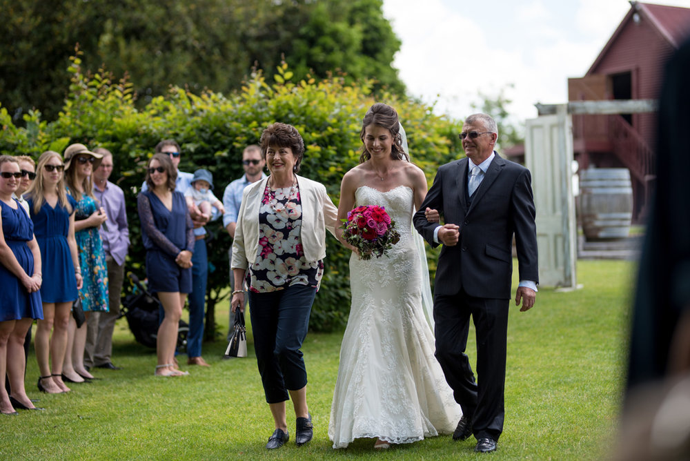 Walking up the Aisle | Astra Bride Sonja