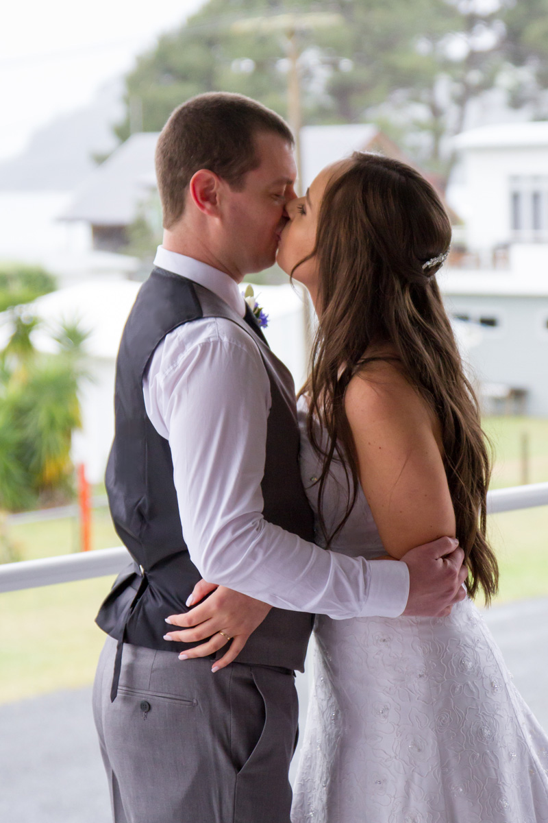 The First Kiss | Bridal Outlet Bride Sarah