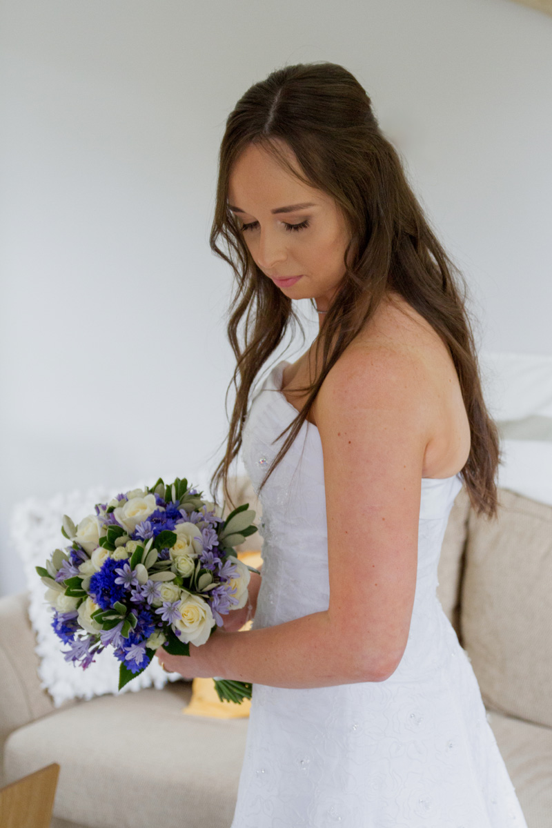 Flattering side view | Bridal Outlet Bride Sarah