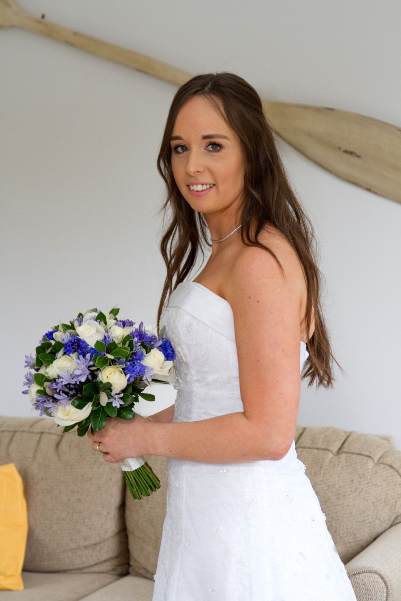 In profile | Bridal Outlet Bride Sarah