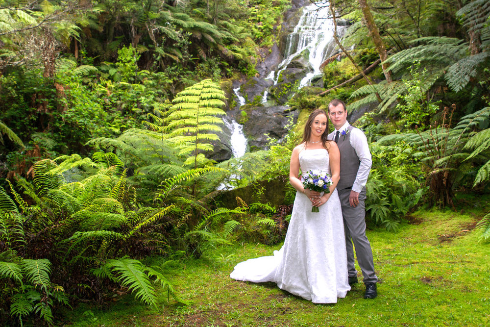 Wonderful Waterfall | Bridal Outlet Bride Sarah