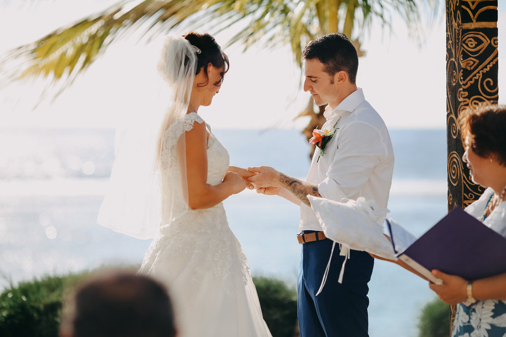 Our Day - We were very relaxed about our wedding and wanted that feeling to come across which is why we chose a package in Rarotonga as it was all taken care for us and we just had a fantastic day!
