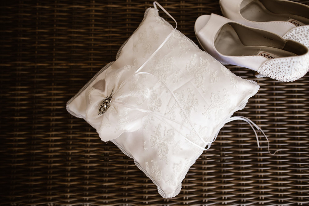 Ring Pillow & Shoes | Astra Bride Marcia