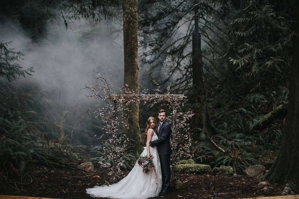 Into the woods... - Enchanted Forest Elopement
