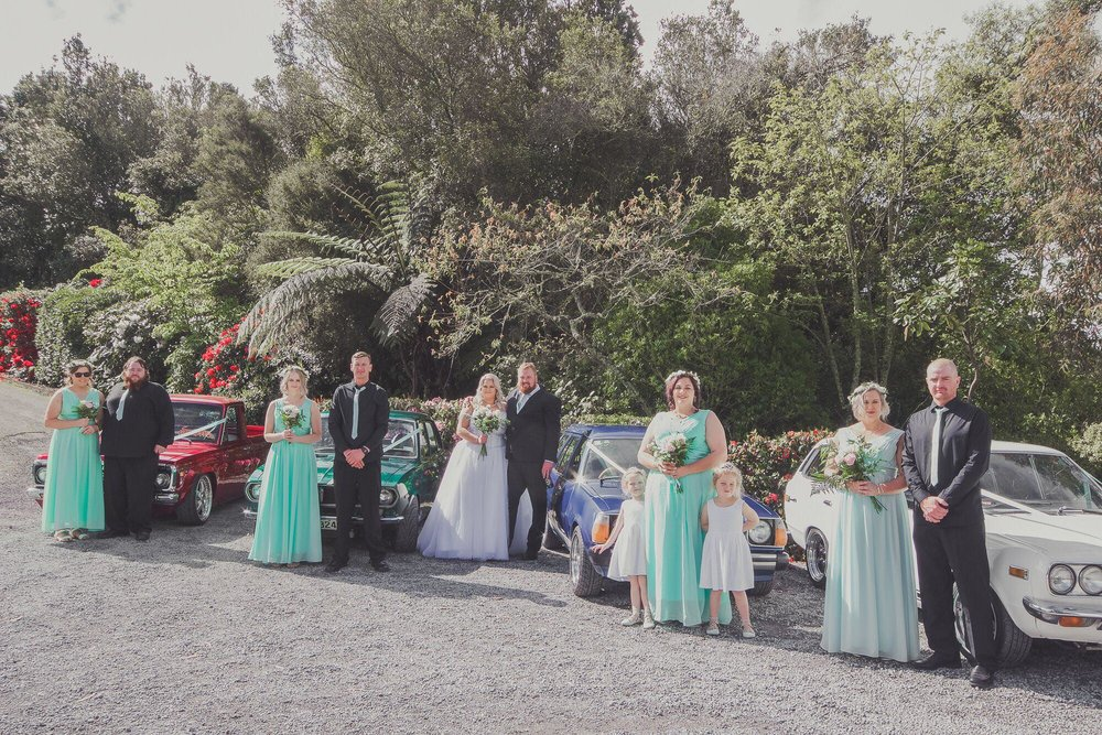 Rustic diy masterpiece the barn taupo borrowed blue nz bridal party and cars bridal outlet bride kelley junglespirit