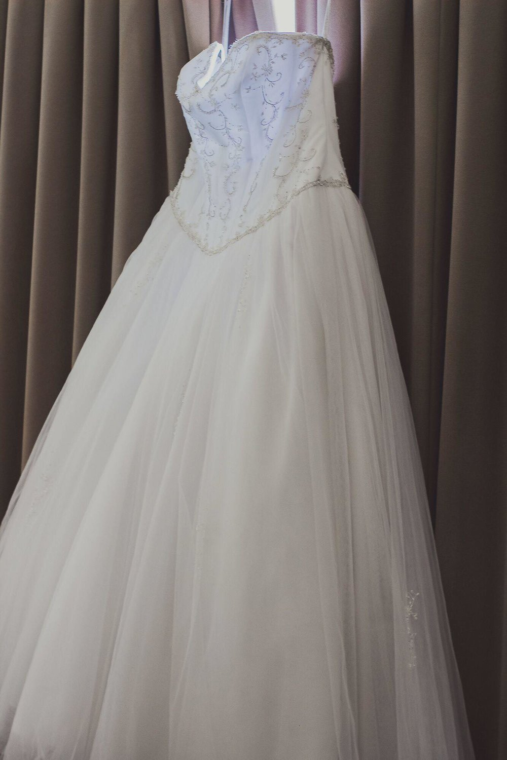 The Gown waiting to be worn | Bridal Outlet Bride Kelley
