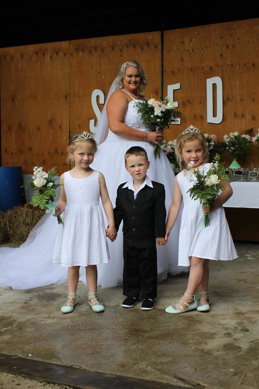 Bride & Little Attendants | Bridal Outlet Bride Kelley