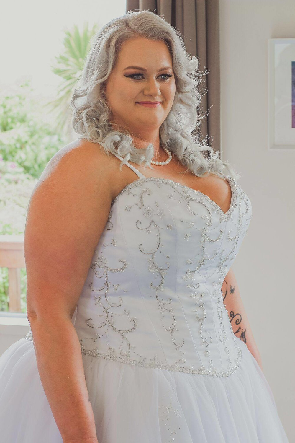 Favourite part of the Gown - I personally loved every aspect of my gown, from the way it fitted my bust to the bead work and the length. I was surprised how comfy and light it was.  I felt like an absolute Princess.- Kelley -