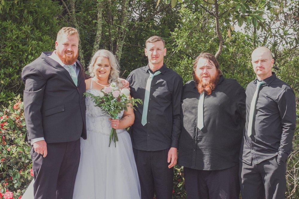 We're Married | Bridal Outlet Bride Kelley