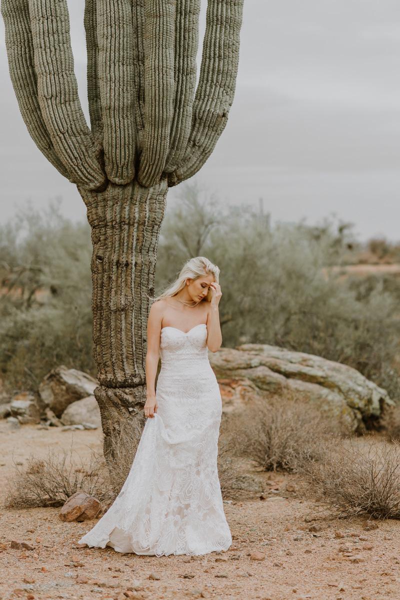 Deep in the Desert | Desert Shoot Fredericka