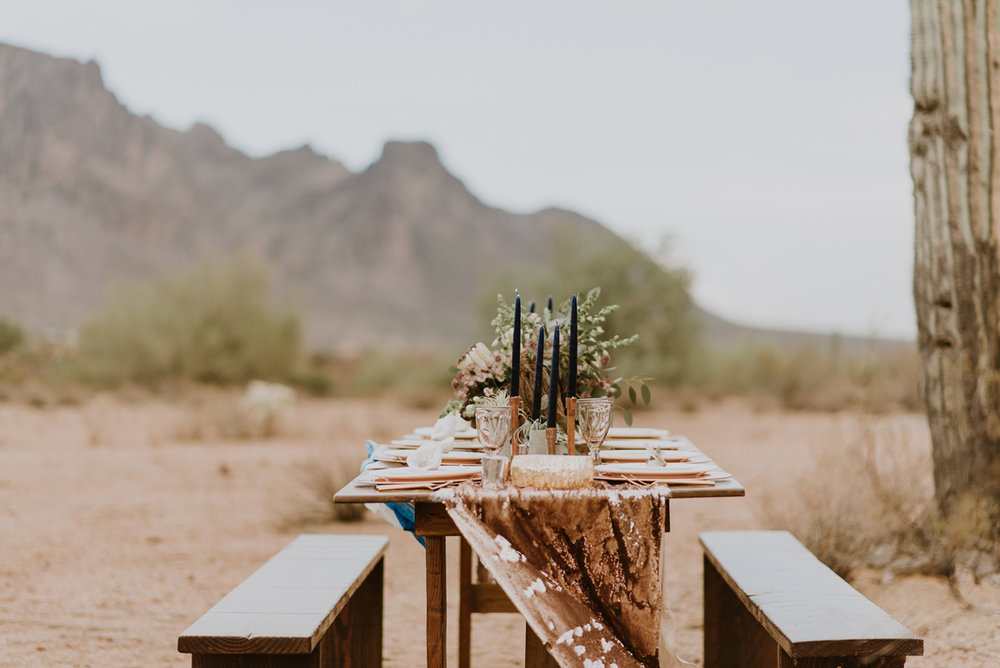 Table Layout | Desert Shoot Fredericka