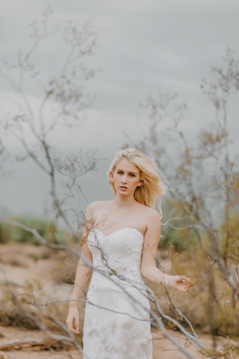 Knee Length Shot | Desert Shoot Fredericka