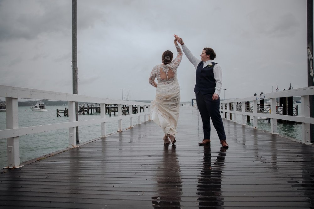Dancing in the rain | Astra Bride Jessica