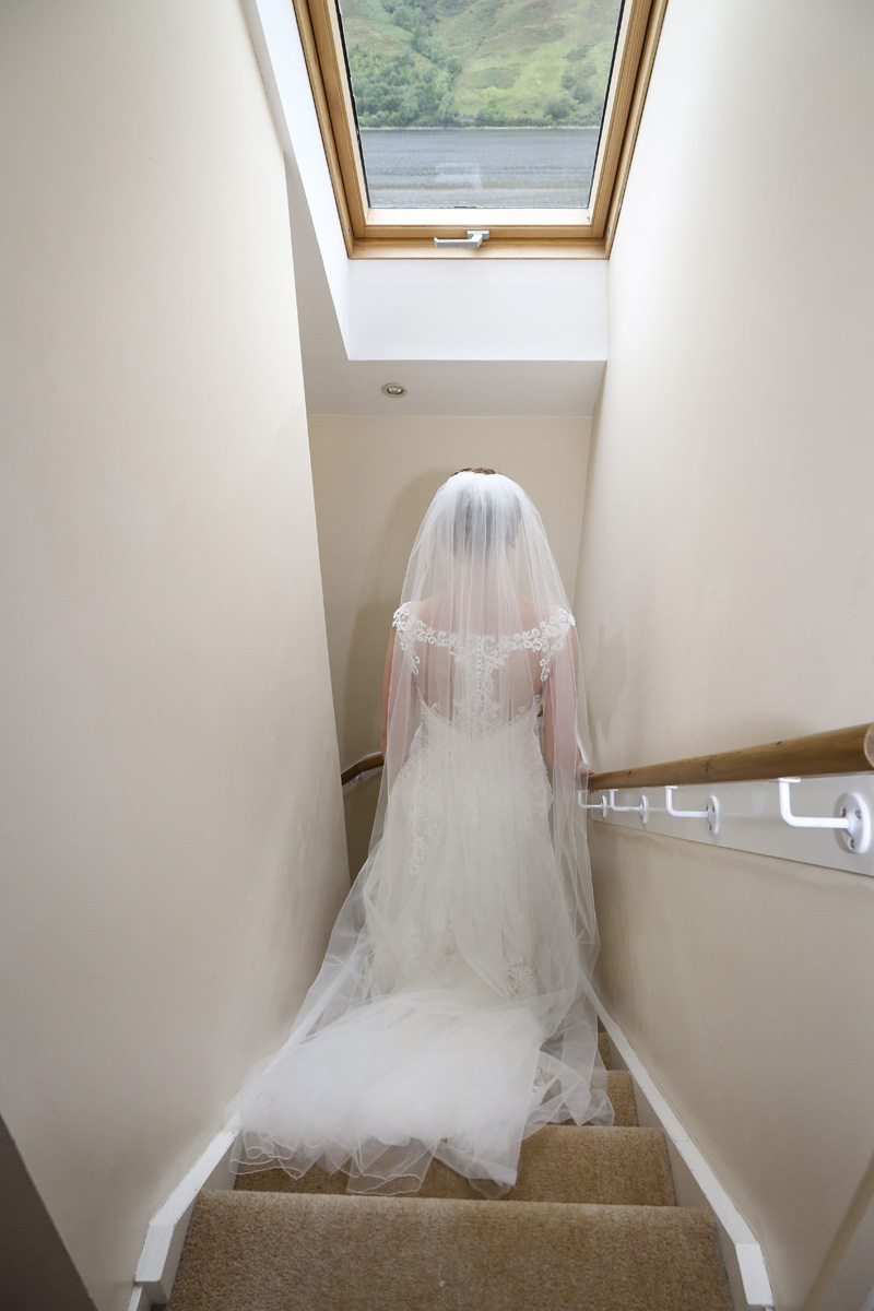 - Anneka wore Rebecca Ingram's Alexis gown. She loved the back of the dress and she felt that the details within the layers were simply amazing.. She felt amazing wearing the dress and it was just the perfect dress for the venue.