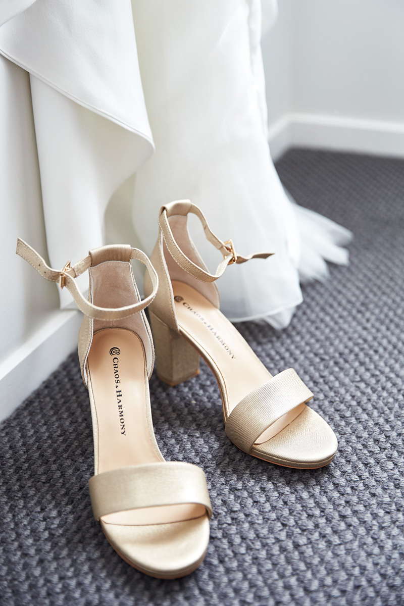 Wedding Shoes | Beach Wedding | Astra Bridal | Maggie Sottero - Blanche | Laura Court Photography