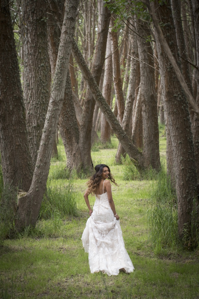 - There is nothing more beautiful than an angelic bride in an exquisite gown floating through a woodland grove... this wedding shoot just took our breath away!What an incredible venue; Lacebark Function Center, to match such a handsome young couple! Beautifully captured by the ever talented Tandem Photography team.