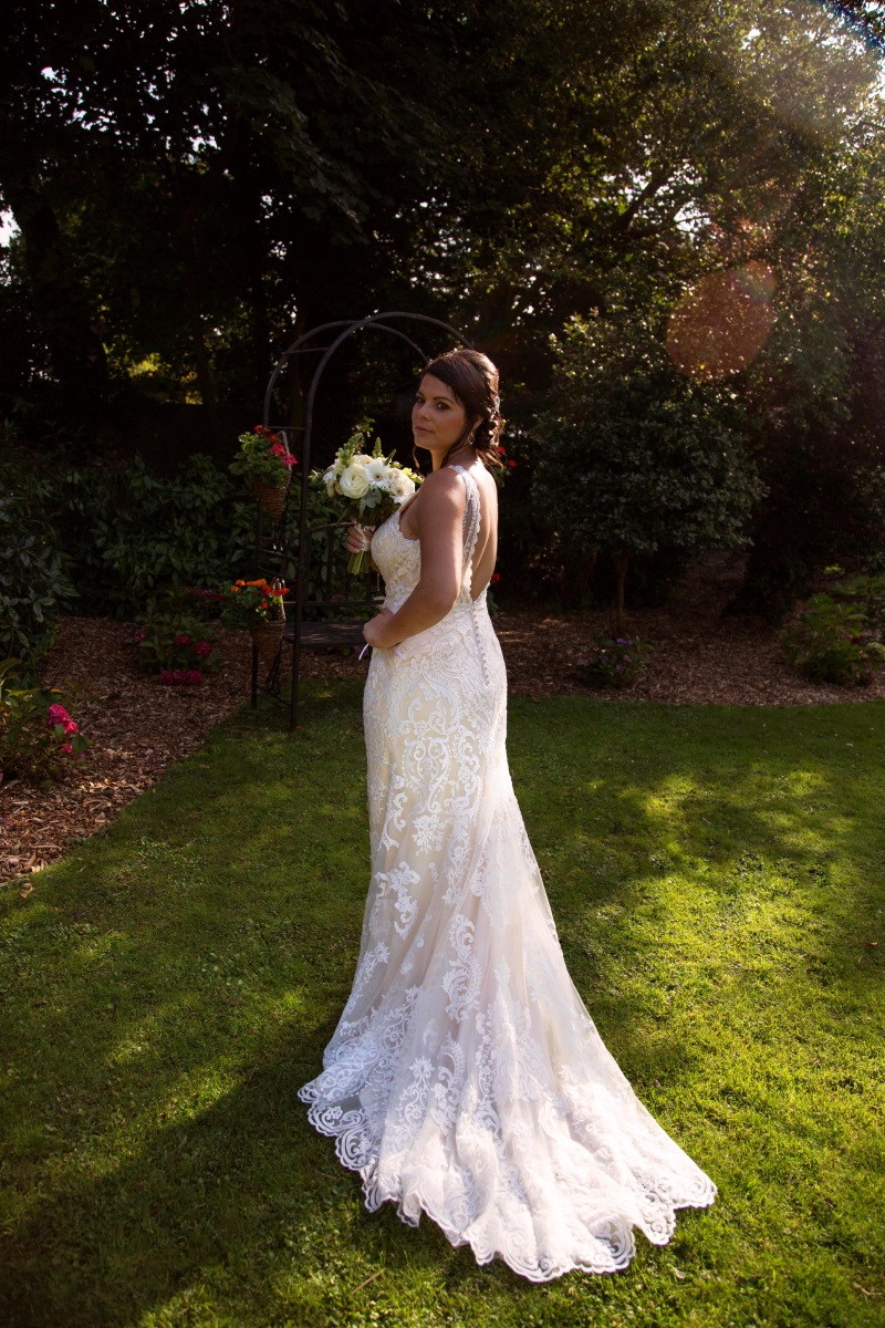 - From the traditional church ceremony in their home stomping ground of Ashington, to a stunning reception at Findon Mannor, this beautiful English expat wedding was simply delectable and with personal touches to boot! Jerri chose Sottero and Midgely's 'Winifred'  gown and had it flown over to the UK for her special day!