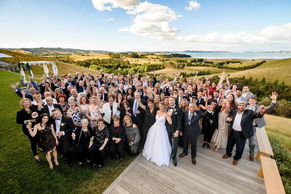 - Yet another wedding venue that has captured our attention here in this gorgeous modern wedding. Kauri Bay, Boom Rock is just south of Auckland and with its panoramic views showing off New Zealands beautiful coastline, how can you not have your wedding here?!
