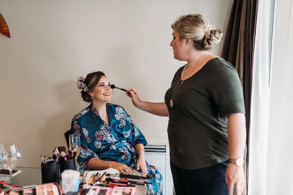 Bridal Makeup  | Paihia Wedding | Astra Bridal | Maggie Sottero - Taiya | Jess Burges Photography