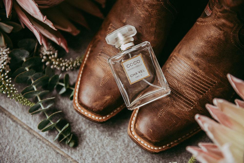 Bridal Perfume | Paihia Wedding | Astra Bridal | Maggie Sottero - Taiya | Jess Burges Photography