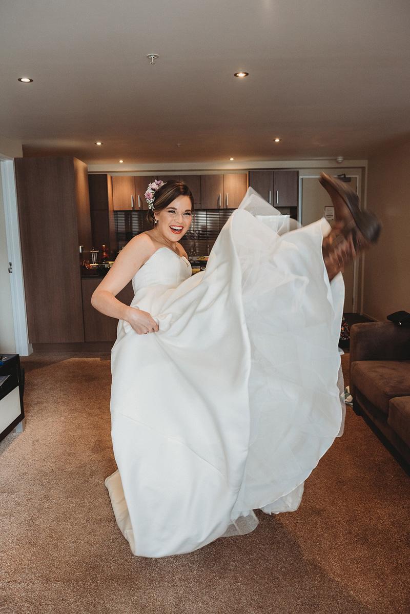 Cowboy Boots | Rustic Wedding | Astra Bridal | Maggie Sottero - Taiya | Jess Burges Photography