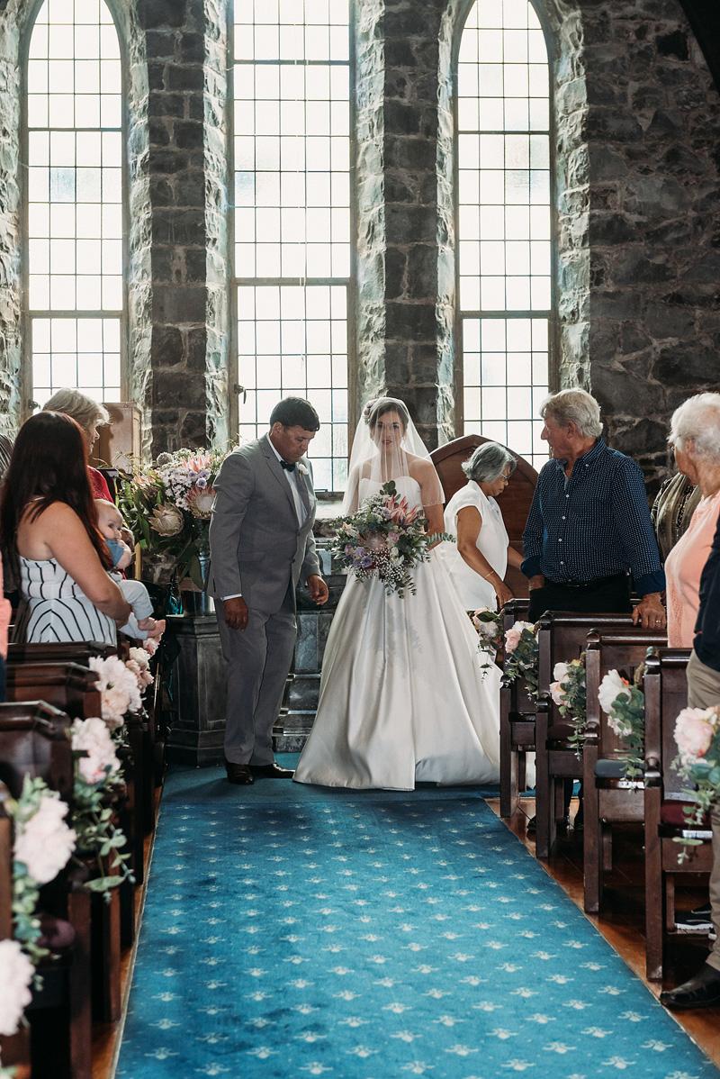 Church Wedding | Rustic Wedding | Astra Bridal | Maggie Sottero - Taiya | Jess Burges Photography