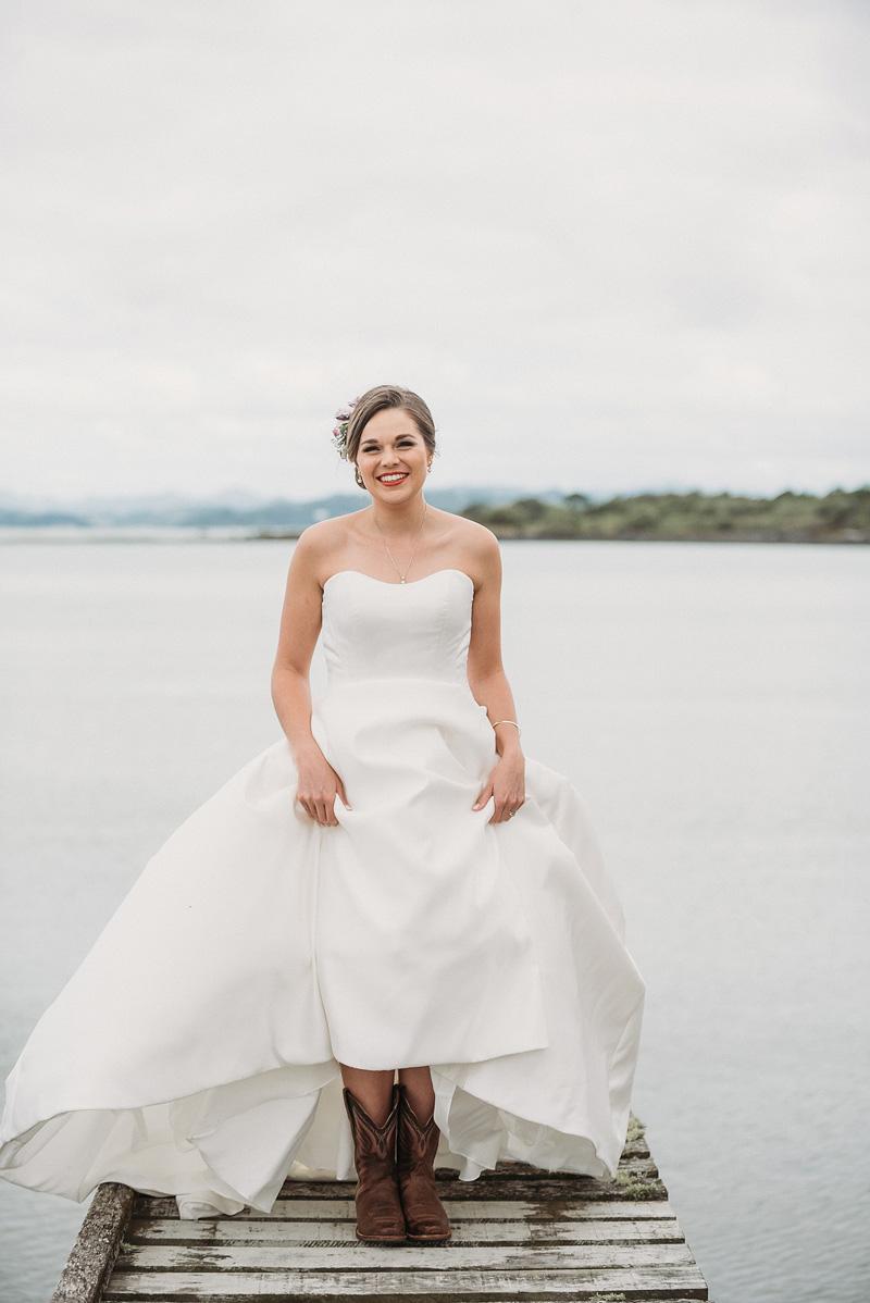 Cowboy Bride | Rustic Wedding | Astra Bridal | Maggie Sottero - Taiya | Jess Burges Photography