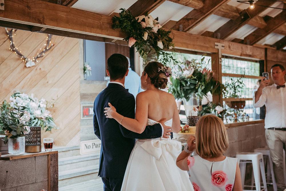 Rustic Reception | Rustic Wedding | Astra Bridal | Maggie Sottero - Taiya | Jess Burges Photography