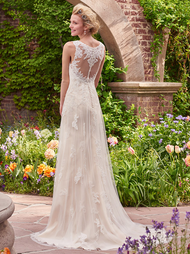 Get The Look... - If you fell in love with this beautiful Rebecca Ingram gown; Piper, click the 'Try This Gown On' button below to make an appointment to try it on at your nearest Astra Bridal location.